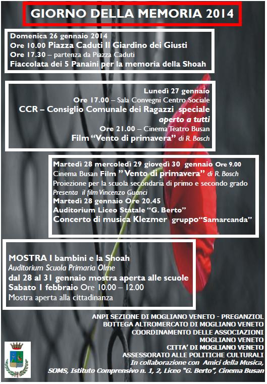 locandina eventi a Mogliano
